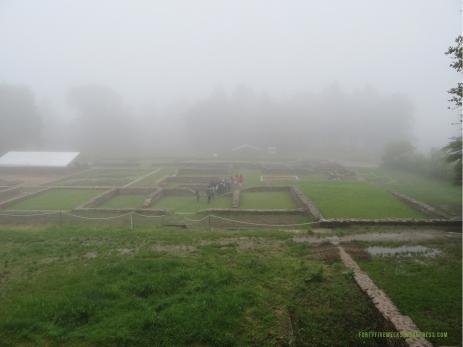 Bibracte Domus brouillard